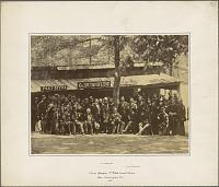 Burnside and the 1st RI Militia at Camp Sprague