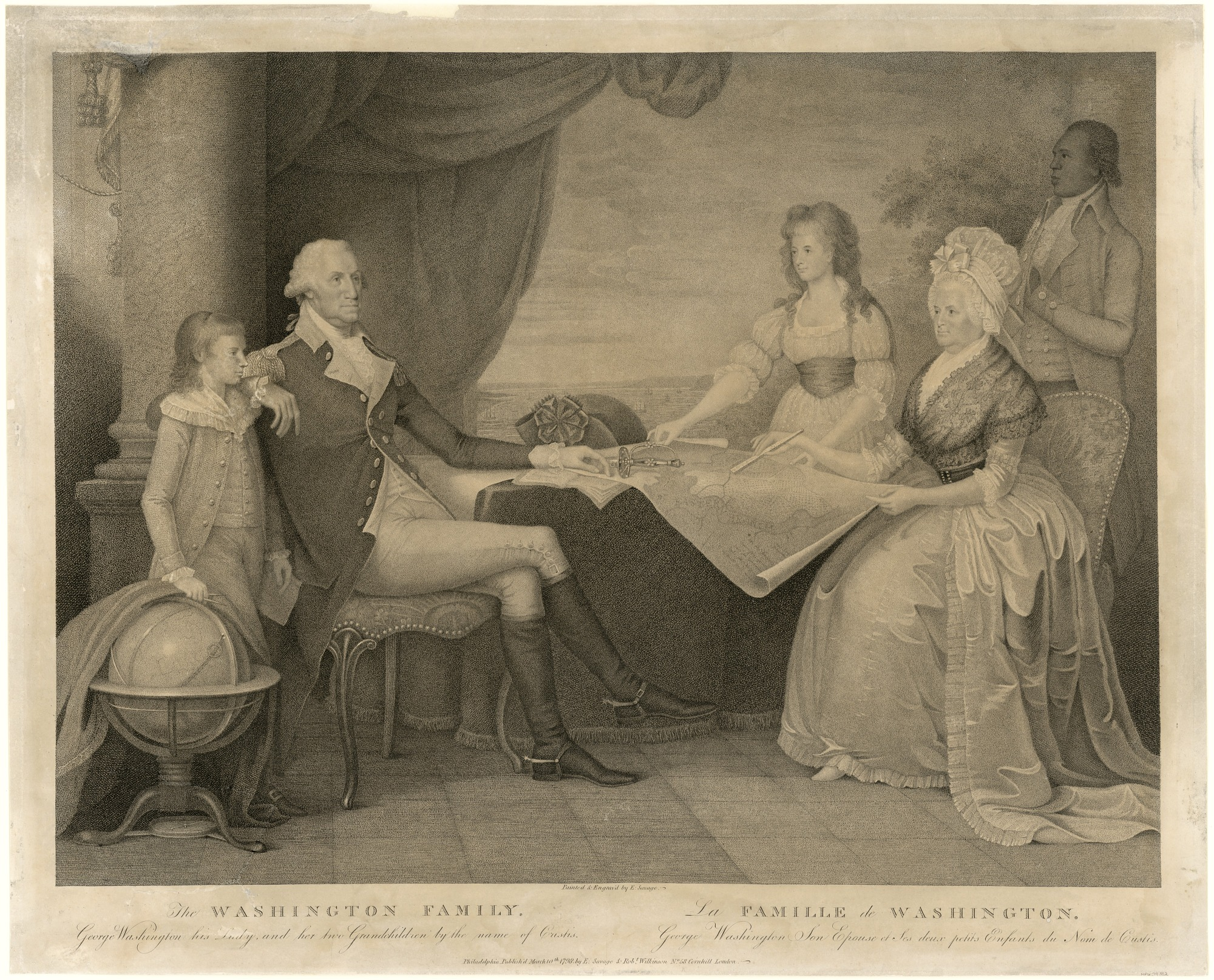 George Washington and Family