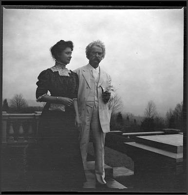 Samuel Clemens and Helen Keller