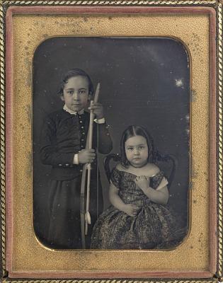 Thomas and Frances Eakins