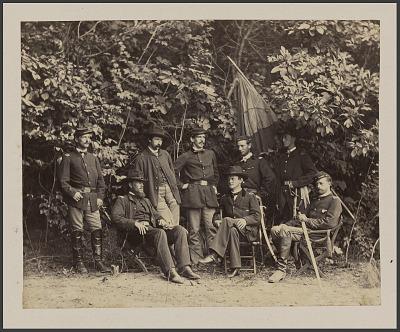 General Merritt and his Staff