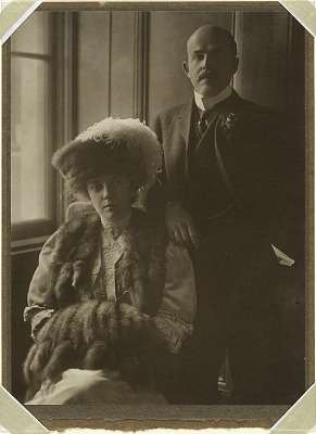 Nicholas and Alice Roosevelt Longworth