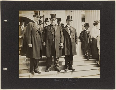 William H. Taft, David R. Francis and Myron T. Herrick