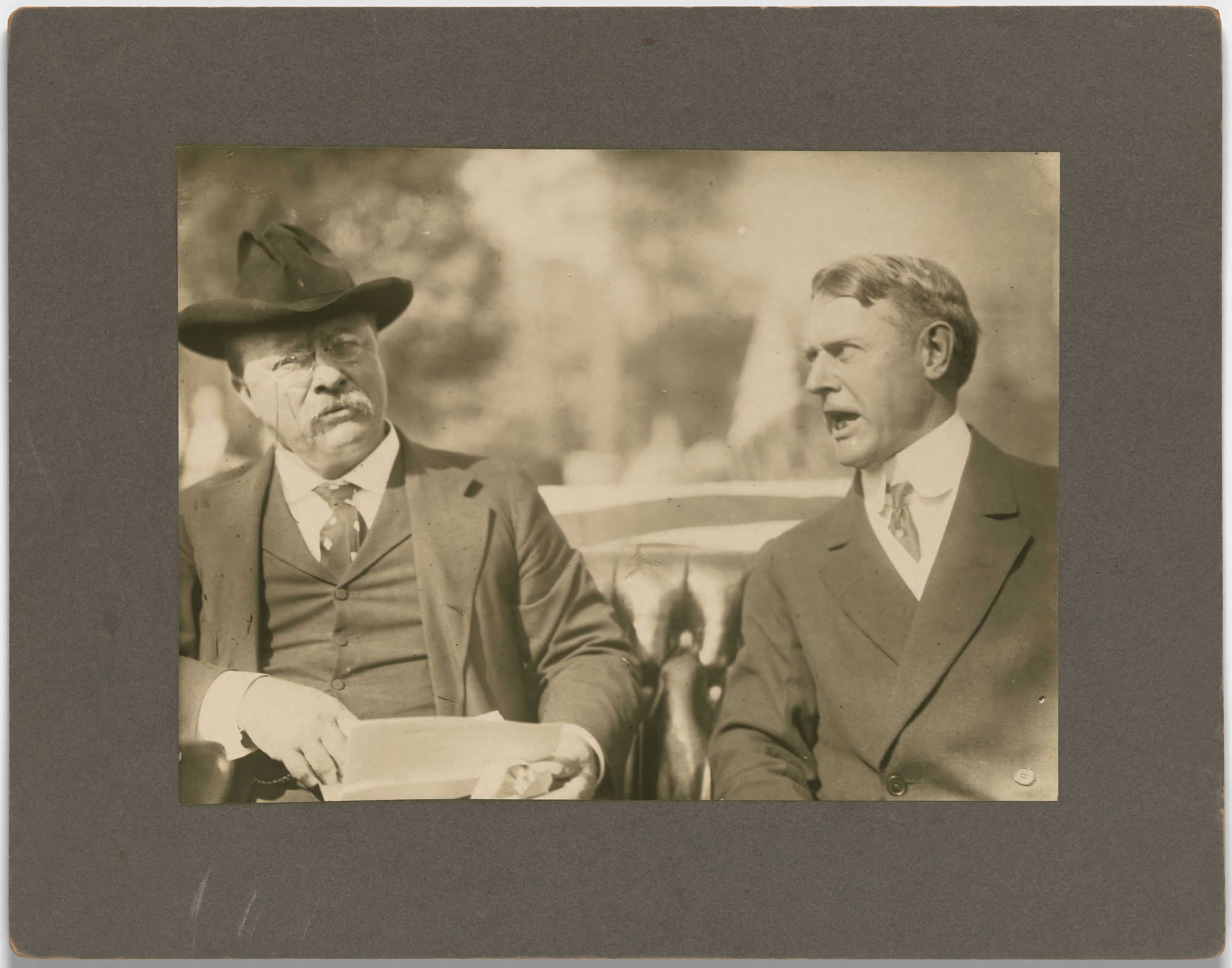 Theodore Roosevelt and Albert Beveridge