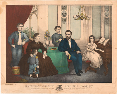 Ulysses Simpson Grant and Family