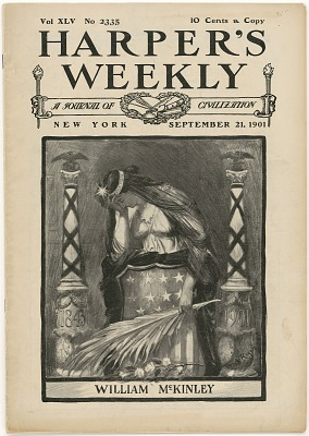 Harper's Weekly -- Assassination of William McKinley
