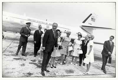 Lyndon and Lady Bird Johnson