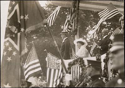 Woodrow Wilson and Edith Bolling Galt Wilson