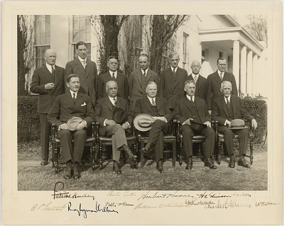 Herbert Hoover and his Cabinet