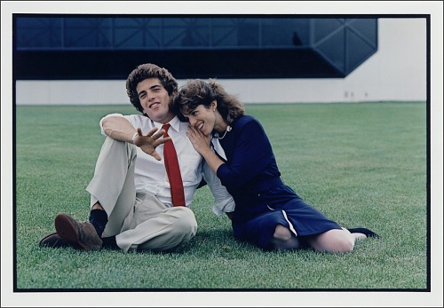 John F. Kennedy, Jr. and Caroline Kennedy
