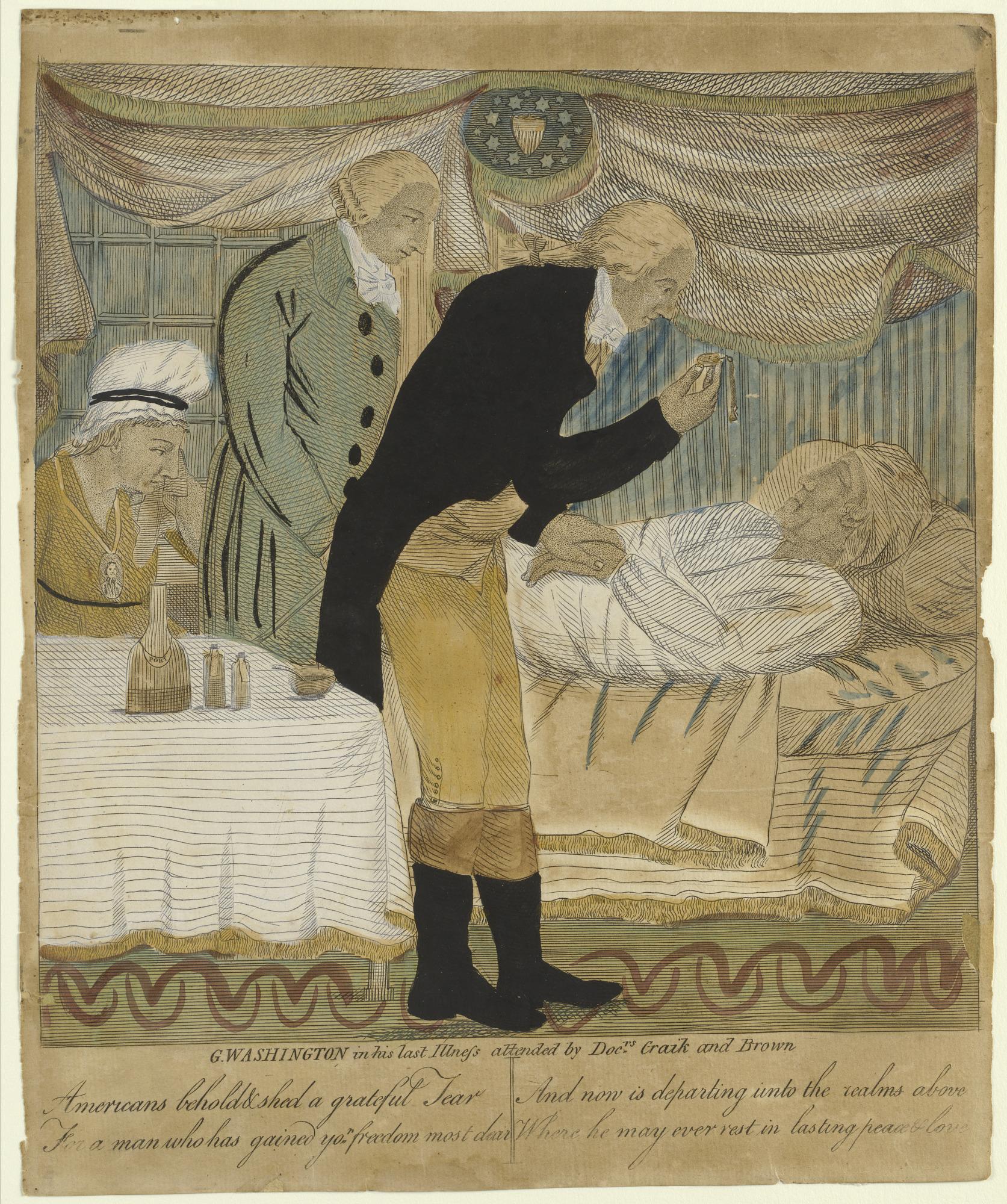 Washington in His Last Illness