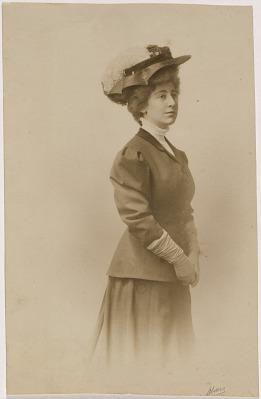 Jeannette Pickering Rankin Portrait
