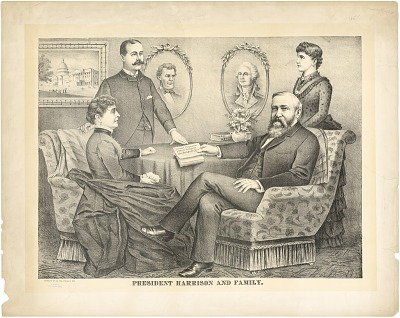 Benjamin Harrison and Family