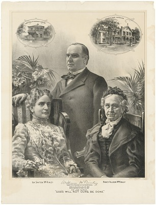William, Ida and Nancy McKinley