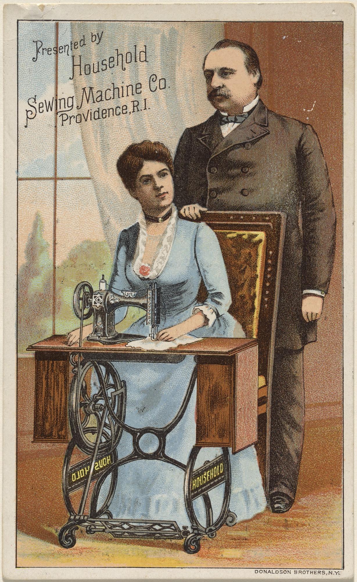 Grover Cleveland and Frances Folsom Cleveland