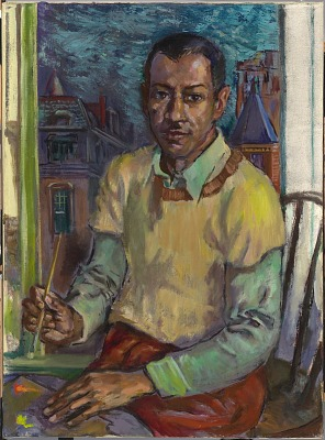 James Amos Porter Self-Portrait