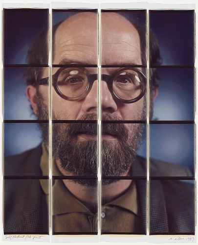 images for Chuck Close Self-Portrait