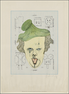 Claes Oldenburg - Symbolic Self-Portrait with