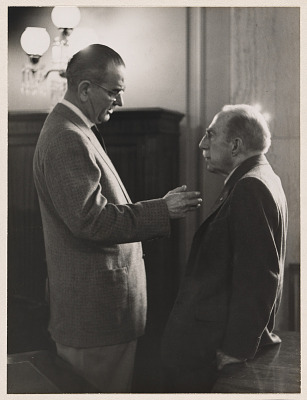 Lyndon Johnson and Theodore Green