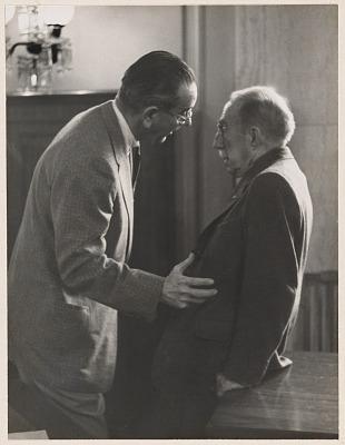 Lyndon Johnson and Theodore Green