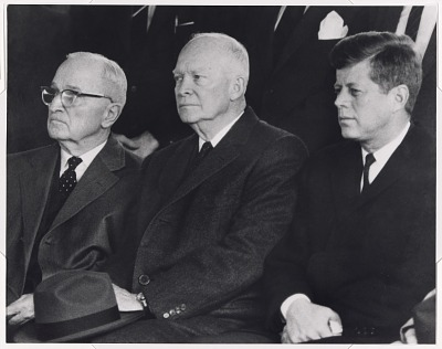 Harry S Truman, Dwight D. Eisenhower and John F. Kennedy