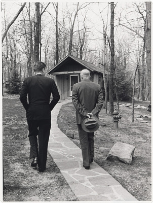 John F. Kennedy and Dwight D. Eisenhower