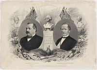 Image of Democratic Candidates for President and Vice President, 1884
