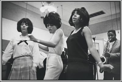 Diana Ross (with Florence Ballard and Mary Wilson)