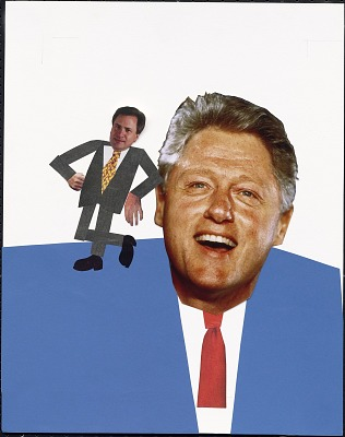 Bill Clinton and Dick Morris