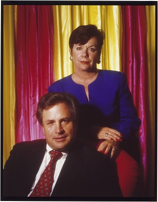 Dick Morris and Eileen McGann