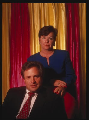 Dick Morris and Eileen McGann