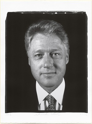 Bill Clinton (front view)