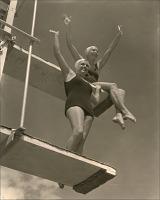 Image of Eleanor Holm and Helene Madison