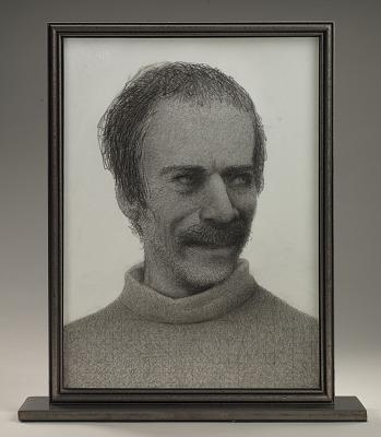 Gregory Gillespie Self-Portrait