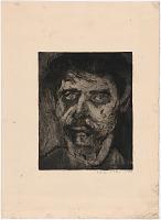 Image of Wolf Kahn Self-Portrait