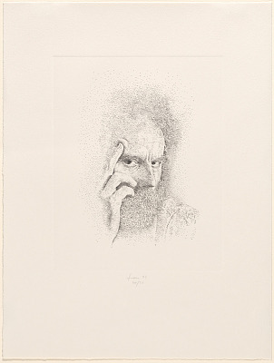 Lucas Samaras Self-Portrait