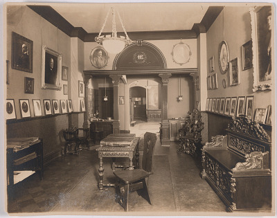 Harris & Ewing Studio (interior)