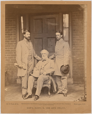 General Robert E. Lee and Staff