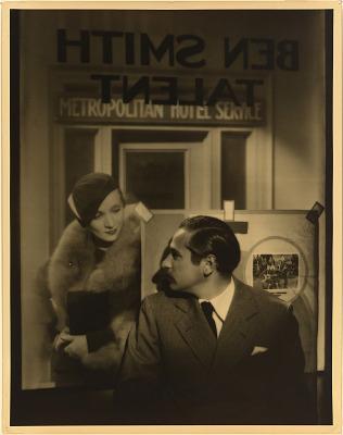 Marlene Dietrich (with Josef von Sternberg)