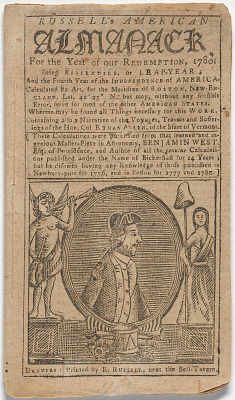 Russell's American Almanack for the Year of our Redemption, 1790