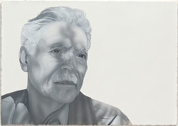 """From One Artist to Another: """"Rudolfo Anaya"""" by Gaspar Enríquez"""