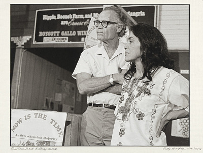 Fred Ross and Dolores Huerta