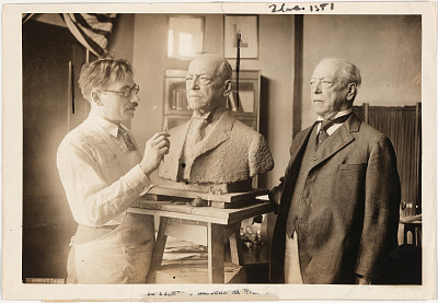 Samuel Gompers (with Moses Dykaar)