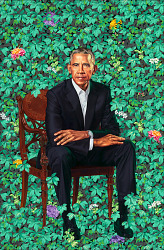 President and Mrs. Obama Portrait Unveiling