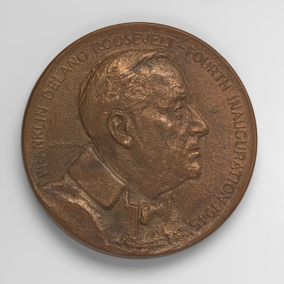 Franklin D. Roosevelt, Fourth Inaugural Medal