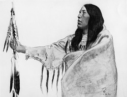 Blackfoot in Robe