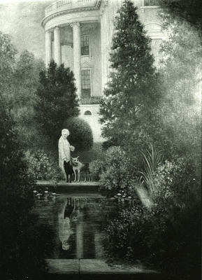 Mrs. Hoover At The White House