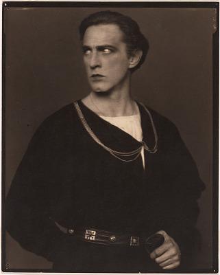 John Barrymore as Hamlet