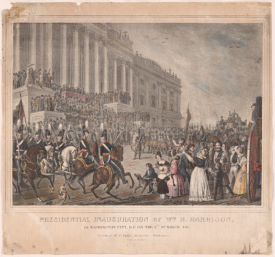 Presidential Inauguration of Wm. H. Harrison