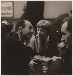 Elaine de Kooning, Frank O'Hara and Franz Kline